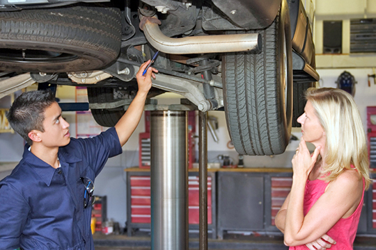 Complimentary* Brake Inspection at Avis Ford
