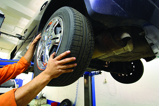 $20 OFF 4 Wheel Alignment & Suspension Pot Hole Check-Up at Suburban Cadillac of Troy