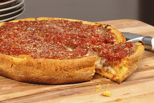 $4 OFF Any 3-Topping Deep Dish or Chicago-Style Pizza at Ole Piper Restaurant & Sports Bar